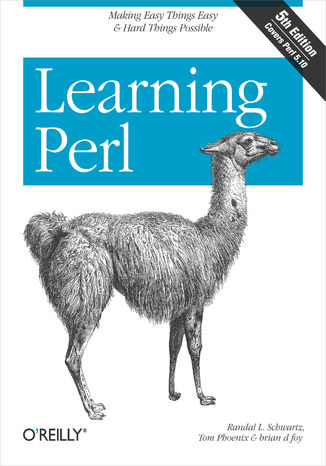Okładka książki/ebooka Learning Perl. 5th Edition
