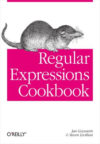Okładka książki/ebooka Regular Expressions Cookbook