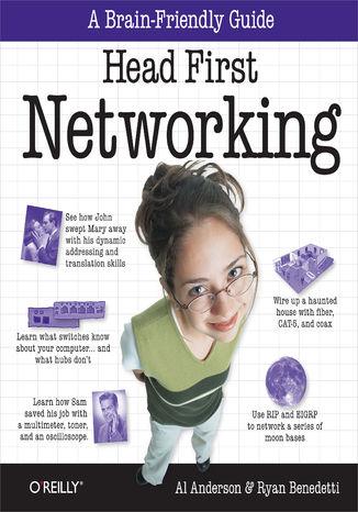 Okładka książki/ebooka Head First Networking. A Brain-Friendly Guide