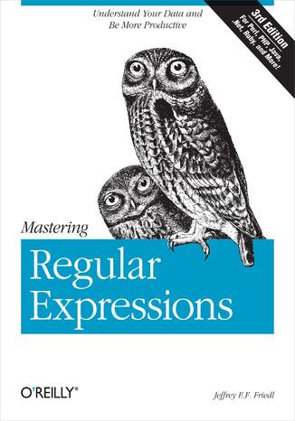 Okładka książki Mastering Regular Expressions. 3rd Edition