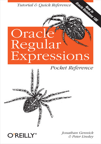 Okładka książki/ebooka Oracle Regular Expressions Pocket Reference