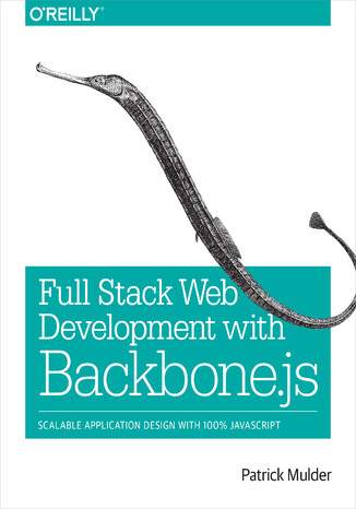Okładka książki Full Stack Web Development with Backbone.js