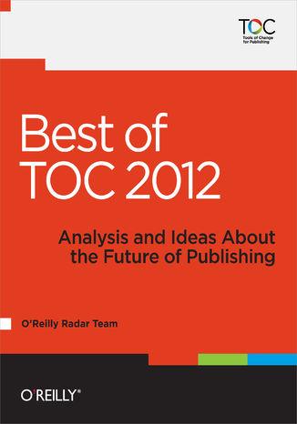 Okładka książki/ebooka Best of TOC 2012