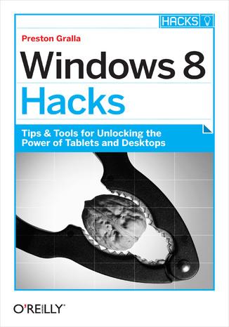 Okładka książki/ebooka Windows 8 Hacks