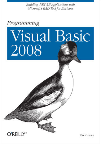 Okładka książki Programming Visual Basic 2008. Build .NET 3.5 Applications with Microsoft's RAD Tool for Business