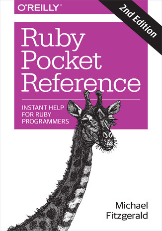 Okładka książki/ebooka Ruby Pocket Reference. 2nd Edition