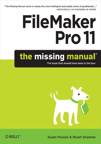 Okładka książki/ebooka FileMaker Pro 11: The Missing Manual
