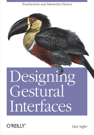 Okładka książki/ebooka Designing Gestural Interfaces. Touchscreens and Interactive Devices