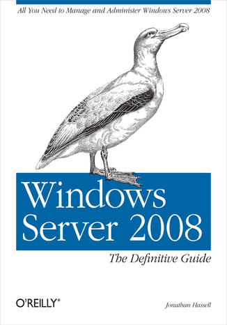 Okładka książki/ebooka Windows Server 2008: The Definitive Guide