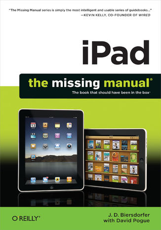 Okładka książki iPad: The Missing Manual. The Missing Manual