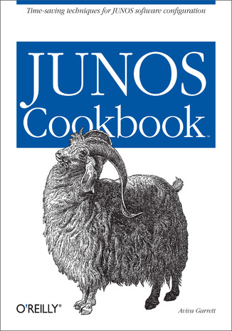 Okładka książki JUNOS Cookbook