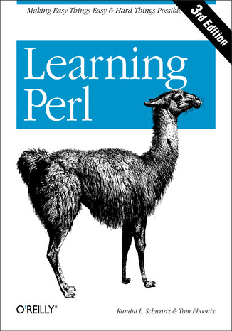 Okładka książki/ebooka Learning Perl. 3rd Edition