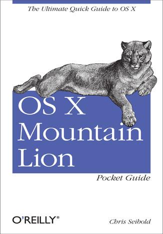 Okładka książki OS X Mountain Lion Pocket Guide