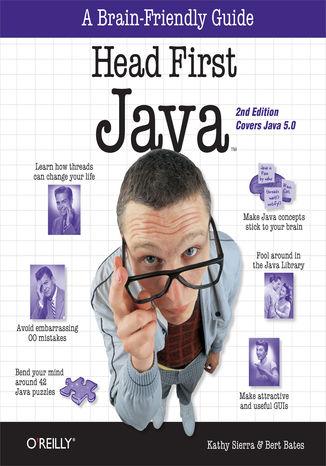 Okładka książki/ebooka Head First Java. A Brain-Friendly Guide. 2nd Edition