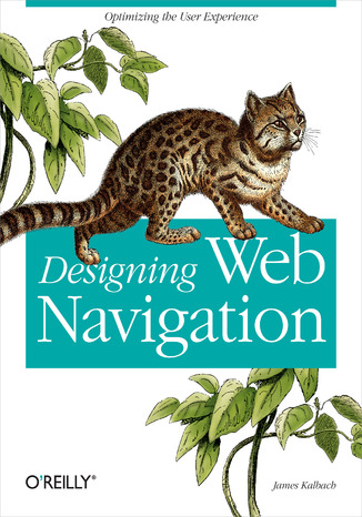 Okładka książki/ebooka Designing Web Navigation