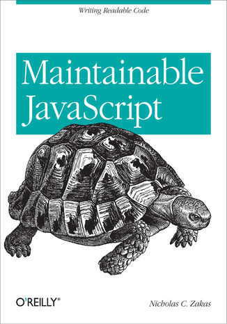 Okładka książki Maintainable JavaScript. Writing Readable Code