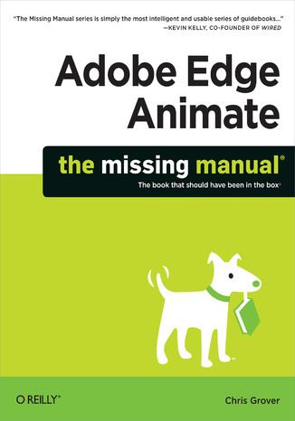 Okładka książki Adobe Edge Animate: The Missing Manual