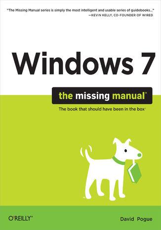 Okładka książki/ebooka Windows 7: The Missing Manual