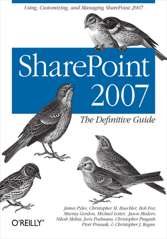 Okładka książki SharePoint 2007: The Definitive Guide