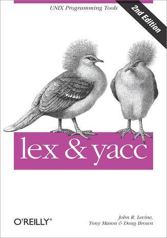 Okładka książki lex & yacc. 2nd Edition