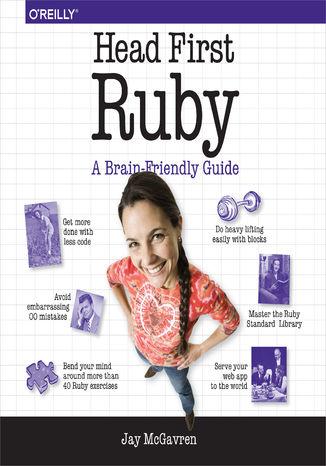 Okładka książki Head First Ruby. A Brain-Friendly Guide