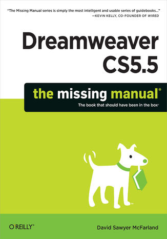 Okładka książki/ebooka Dreamweaver CS5.5: The Missing Manual