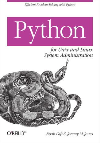 Okładka książki Python for Unix and Linux System Administration