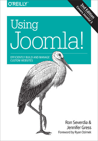Okładka książki/ebooka Using Joomla!. 2nd Edition