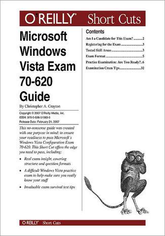 Okładka książki/ebooka Microsoft Windows Vista Exam 70-620 Guide