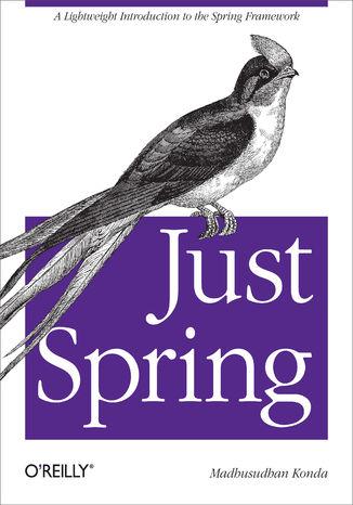 Okładka książki/ebooka Just Spring. A Lightweight Introduction to the Spring Framework