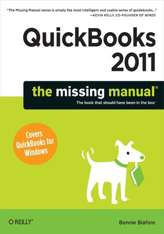 Okładka książki/ebooka QuickBooks 2011: The Missing Manual