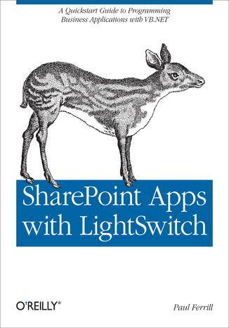 Okładka książki/ebooka SharePoint Apps with LightSwitch