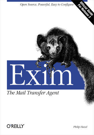 Okładka książki/ebooka Exim: The Mail Transfer Agent. The Mail Transfer Agent