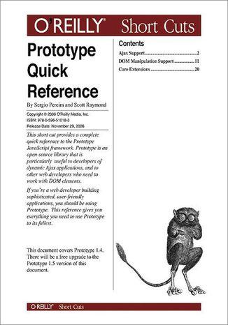 Okładka książki/ebooka Prototype Quick Reference
