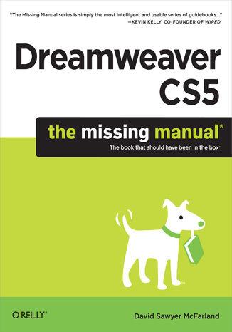 Okładka książki/ebooka Dreamweaver CS5: The Missing Manual