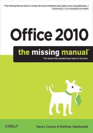 Okładka książki Office 2010: The Missing Manual