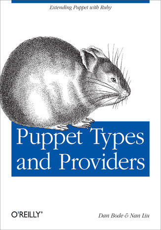 Okładka książki/ebooka Puppet Types and Providers