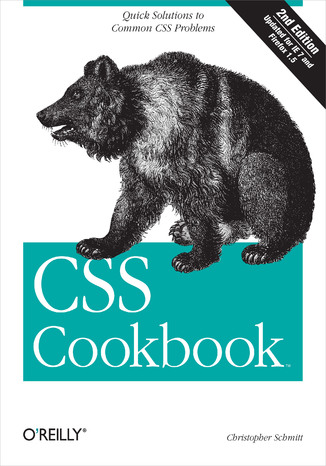 Okładka książki CSS Cookbook. 2nd Edition