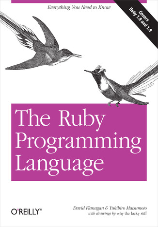 Okładka książki The Ruby Programming Language