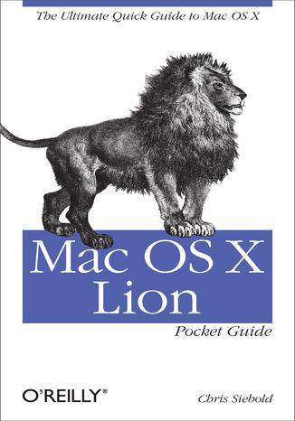 Okładka książki/ebooka Mac OS X Lion Pocket Guide. The Ultimate Quick Guide to Mac OS X