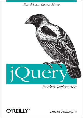 Okładka książki/ebooka jQuery Pocket Reference. Read Less, Learn More