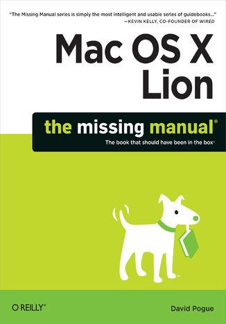 Okładka książki/ebooka Mac OS X Lion: The Missing Manual