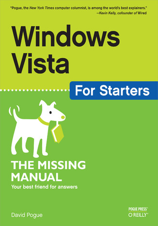 Okładka książki Windows Vista for Starters: The Missing Manual. The Missing Manual