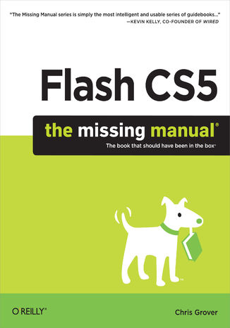 Okładka książki Flash CS5: The Missing Manual