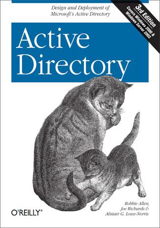 Okładka książki/ebooka Active Directory. 3rd Edition