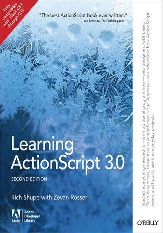 Okładka książki Learning ActionScript 3.0. A Beginner's Guide. 2nd Edition