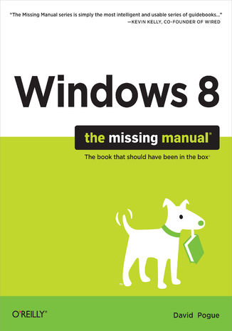 Okładka książki/ebooka Windows 8: The Missing Manual