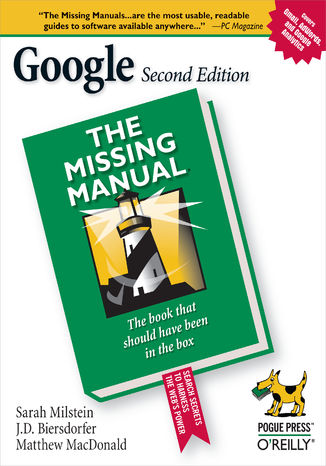 Okładka książki/ebooka Google: The Missing Manual. The Missing Manual. 2nd Edition