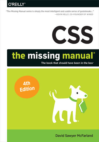 Okładka książki/ebooka CSS: The Missing Manual. 4th Edition