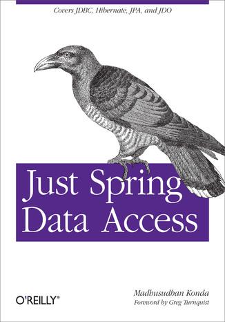 Okładka książki Just Spring Data Access